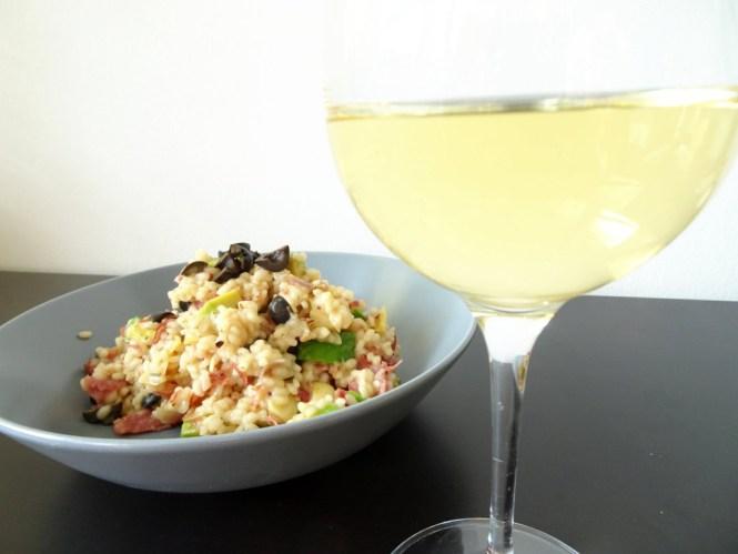 risotto mit weißwein
