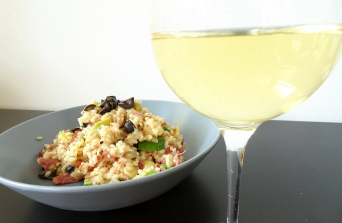 Weißwein-Risotto