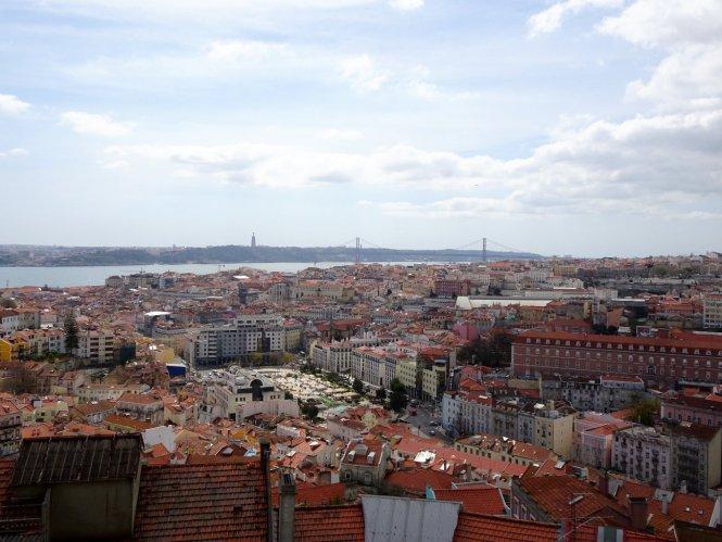 aussicht miradouro do nossa lissabon Sehenswürdigkeiten einer Städtereise - Alfama