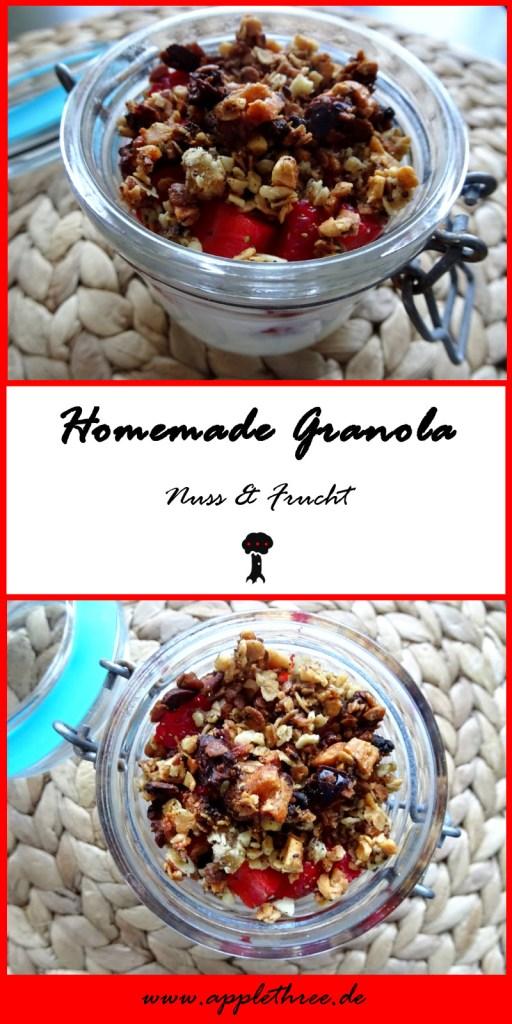 homemade granola pin