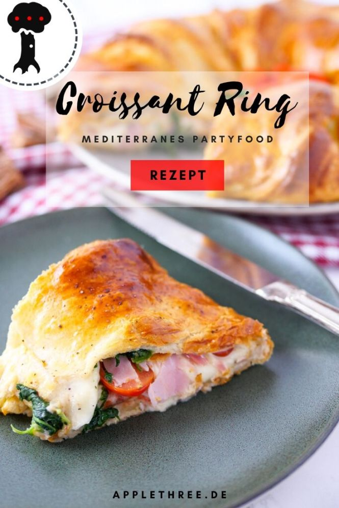 croissant ring mediterran