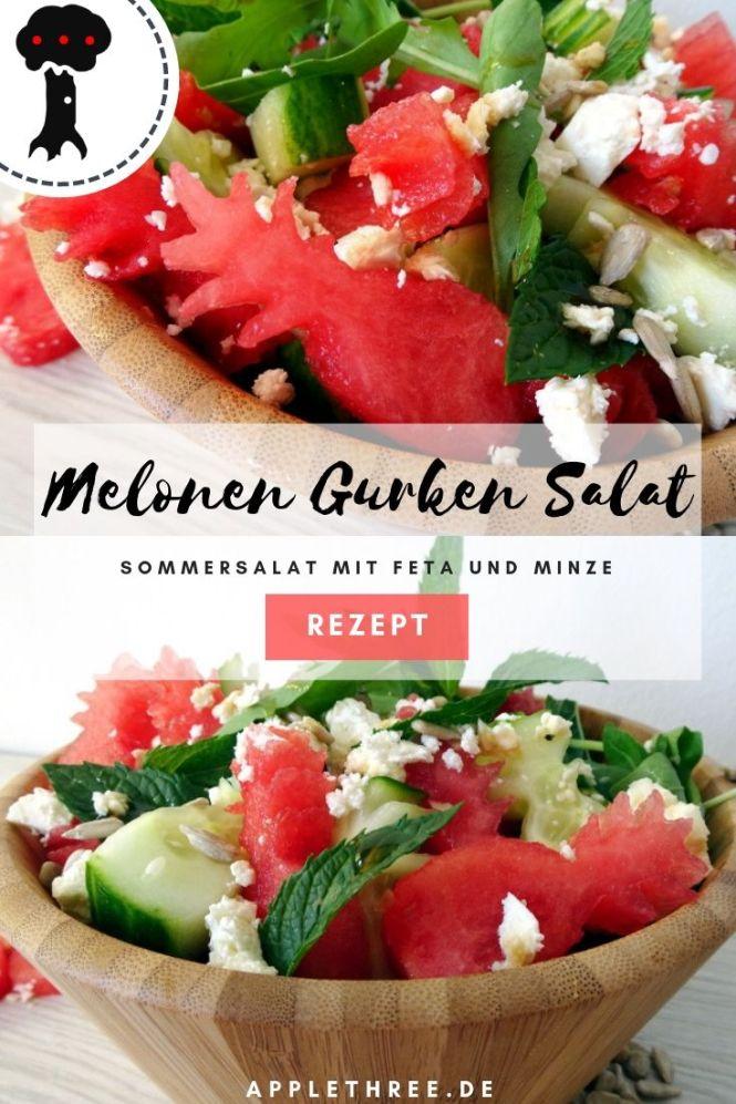 Melonen Gurken Salat