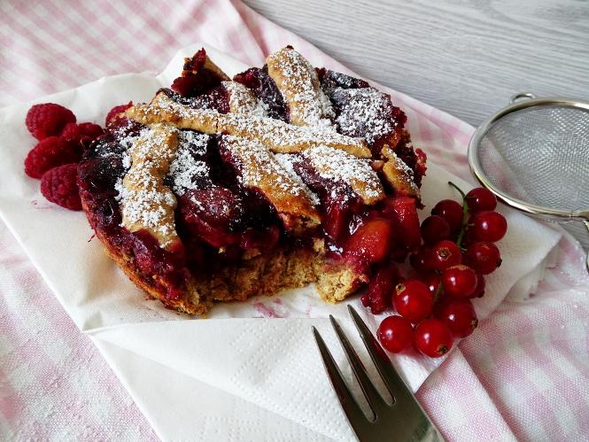 berry pie fruit