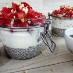 Chia Pudding mit Frucht