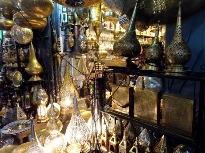 marrakesch tipps und travelguide souks metallarbeiten