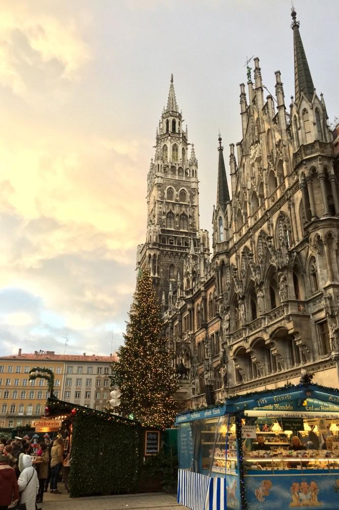Christkindlmarkt München Marienplatz