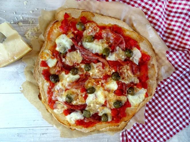 pizza-mit-oliven rezept selber machen