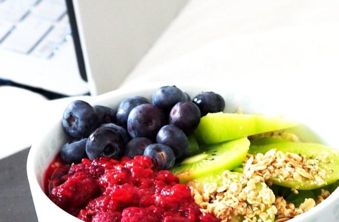 porridge blaubeeren himbeeren healthy
