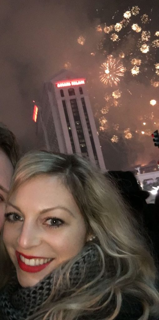 las vegas foto diary new years eve caesars palace