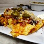 burrito mit fleischfuellung