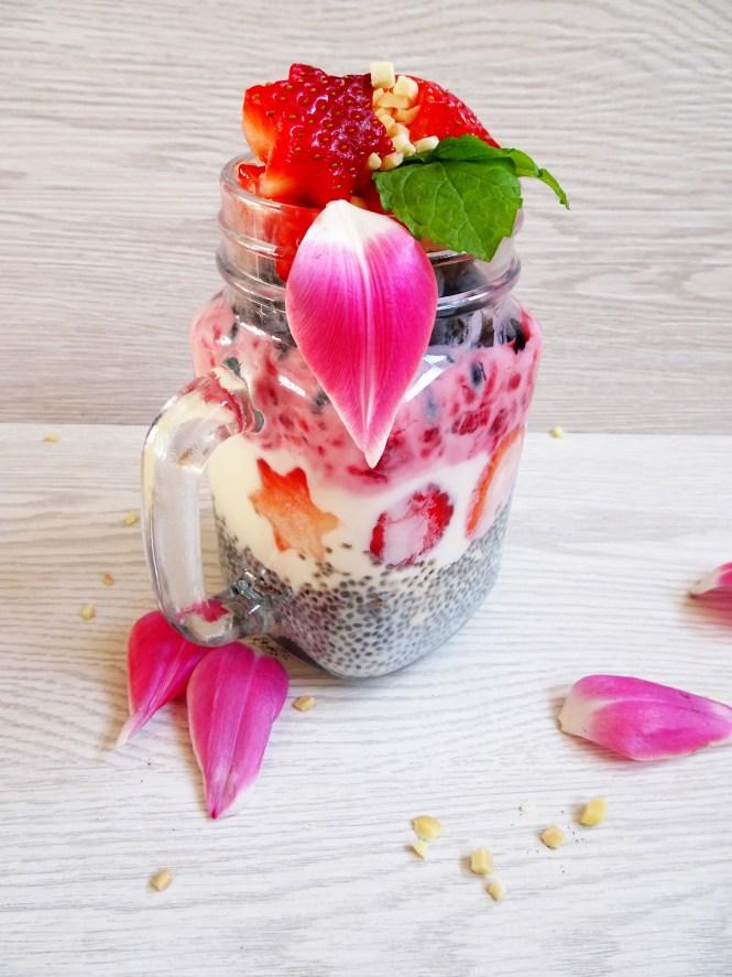 to go chia frucht joghurt gesund samen