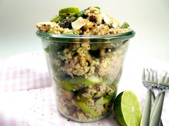 couscous salat mit spargel und lachs