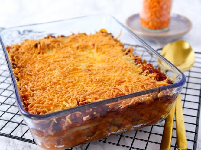 lowcarb lasagne vegetarisch
