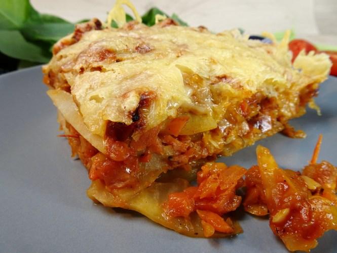 vegetarische lowcarb lasagne mit kohlrabi