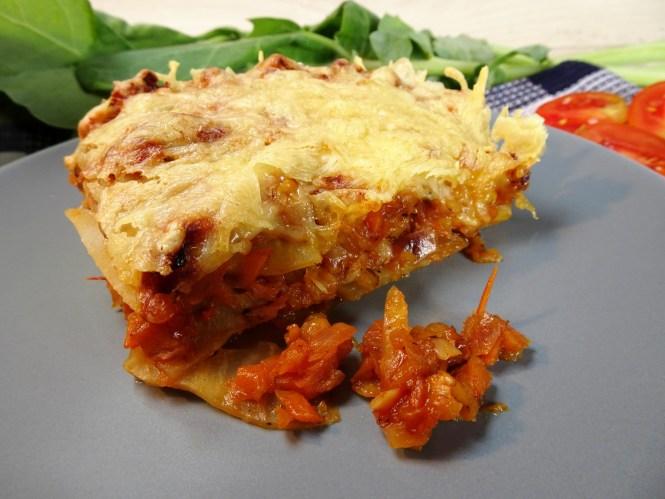 vegetarische lowcarb lasagne