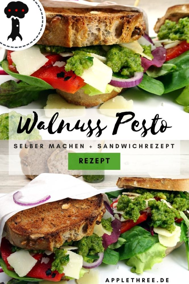 walnuss pesto rezept
