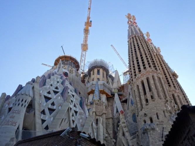barcelona citytrip LA sagrada familia
