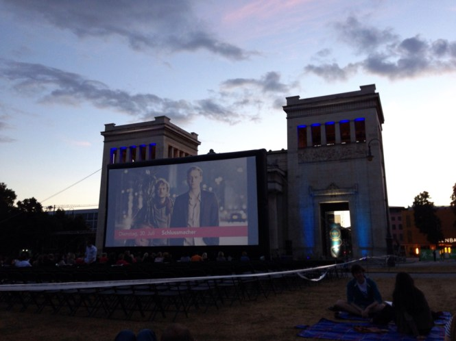 königsplatz open air Kino münchen