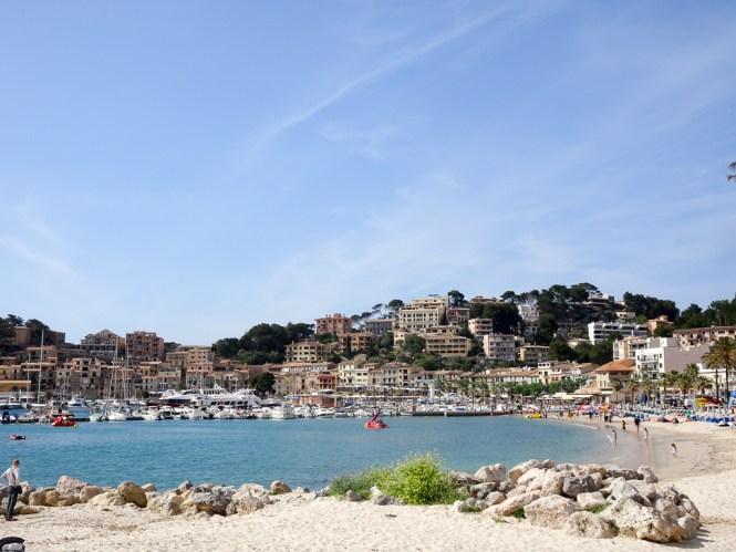 Mallorca Westen port de soller strand