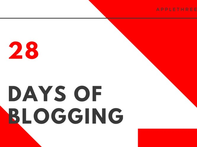 28daysofblogging