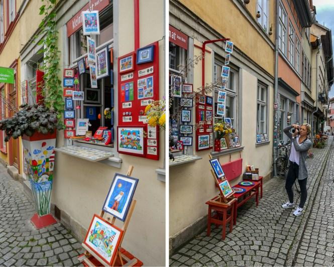 Travelguide Erfurt Bilder Krämerbrücke