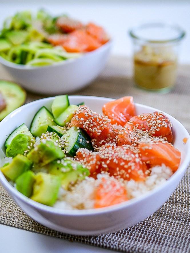 Sushi Bowl lowcarb