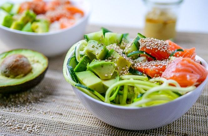 Sushi Salat