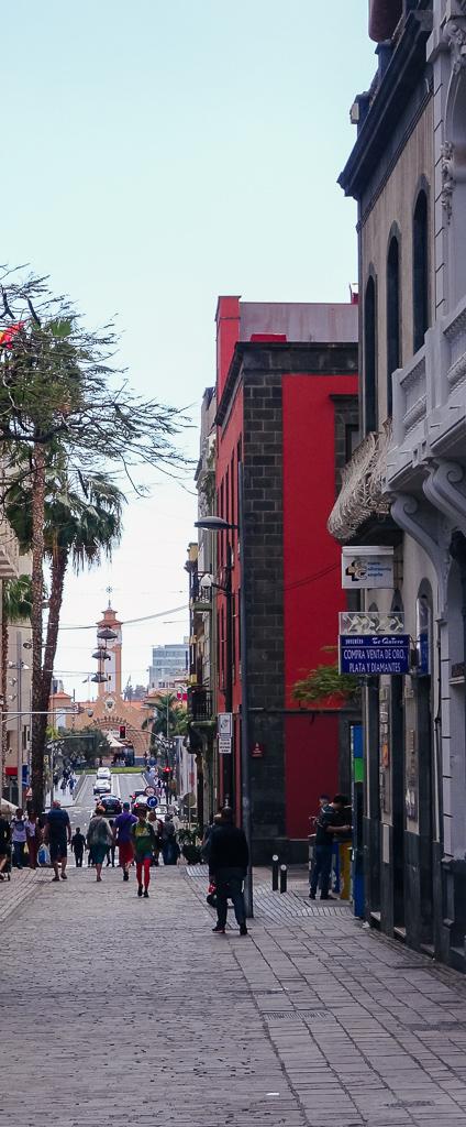 Travelguide Santa Cruz de Tenerife Fußgängerzone