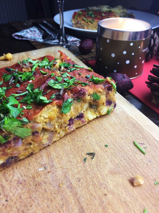 veganes weihnachtsmenü  Vegan Christmas Dinner
