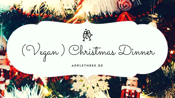 (Vegan ) Christmas Dinner Banner