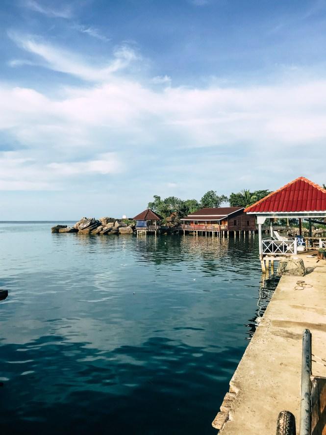 Hafen Koh Rong Kambodscha