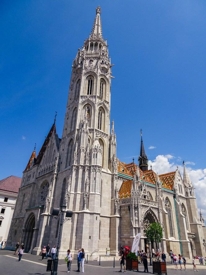 Budapest matthiaskirche
