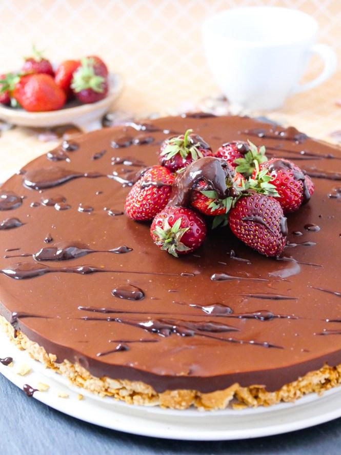 no bake kuchen schokolade