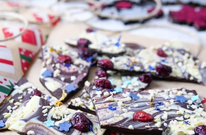 geschenke aus der küche bruchschokolade selber machen