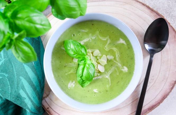 zucchinisuppe rezept vegan