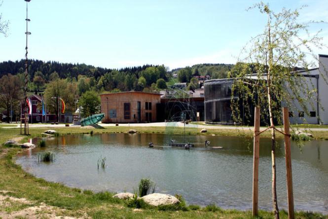 Bayerischen Wald, Bayerischer Wald, Glashüte, Museum, Glasbläserei