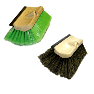 Tri-Level Squeegee Brushes