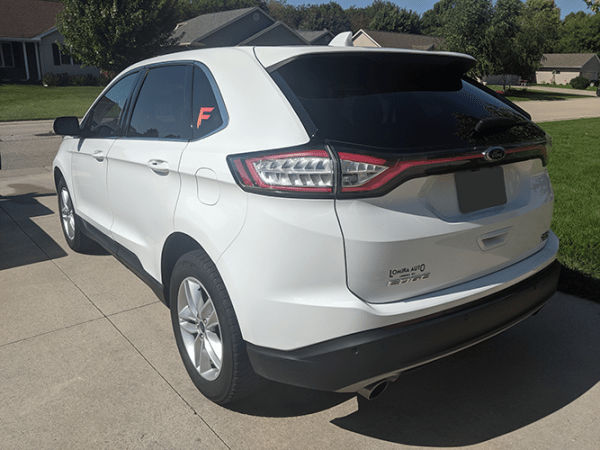 White Ford SUV Detailed