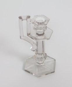 D144: Glass Candlestick