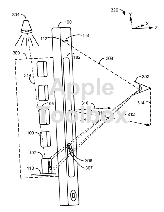 Apple patent application for 3D Camera and UI for CarPlay