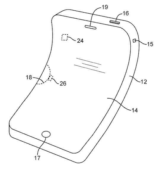 Apple awarded patent for flexible electronic devices