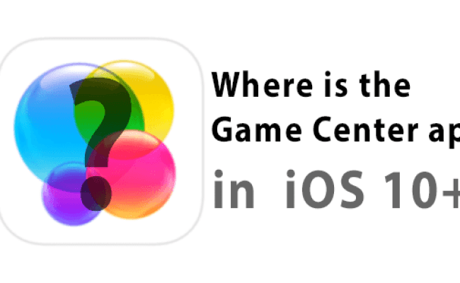 Where Is Game Center App Now Using Imessage Icloud