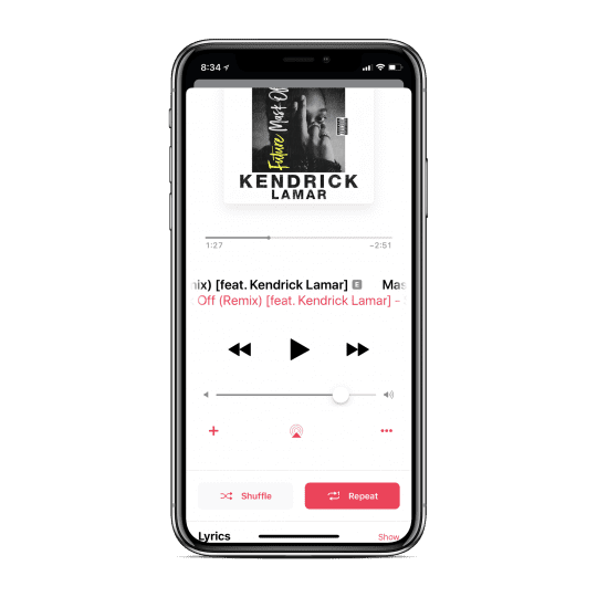How to Shuffle and Repeat Songs on the iPhone with Apple