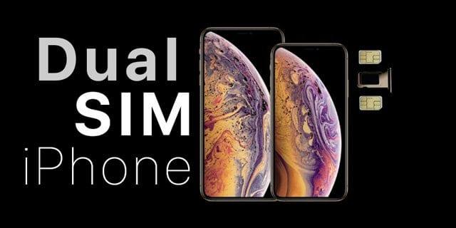 Dual SIM cards on iPhones