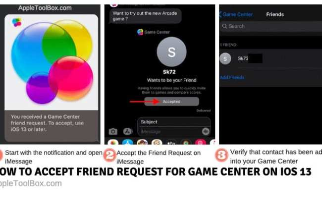 How To Invite Friends Using Game Center On Ios 13 And