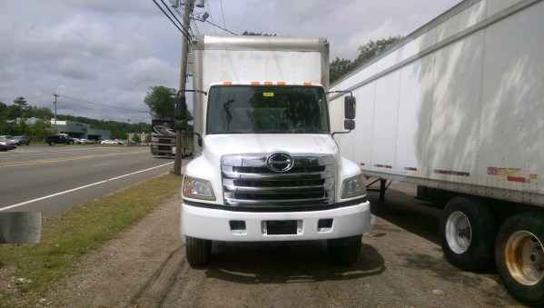 Commercial delivery trucks - Box trucks