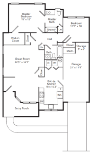 Assisted Living Floor Plans in Freehold, NJ | Applewood