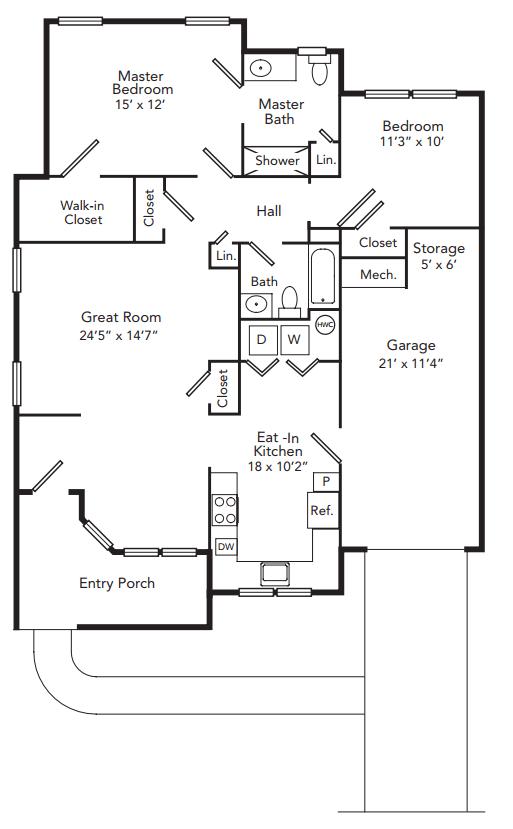 embassy floor plan