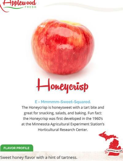 Honeycrisp Sell Sheet