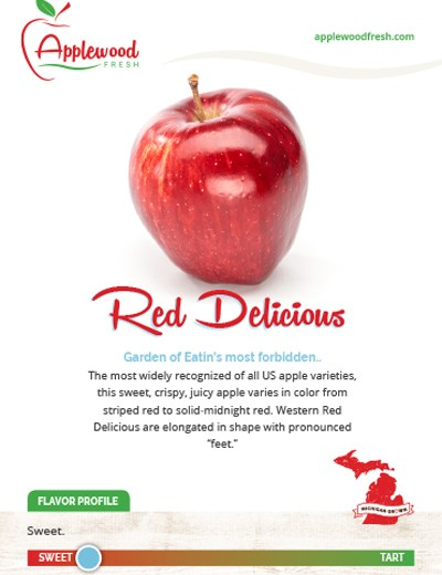 Red Delicious Sell Sheet